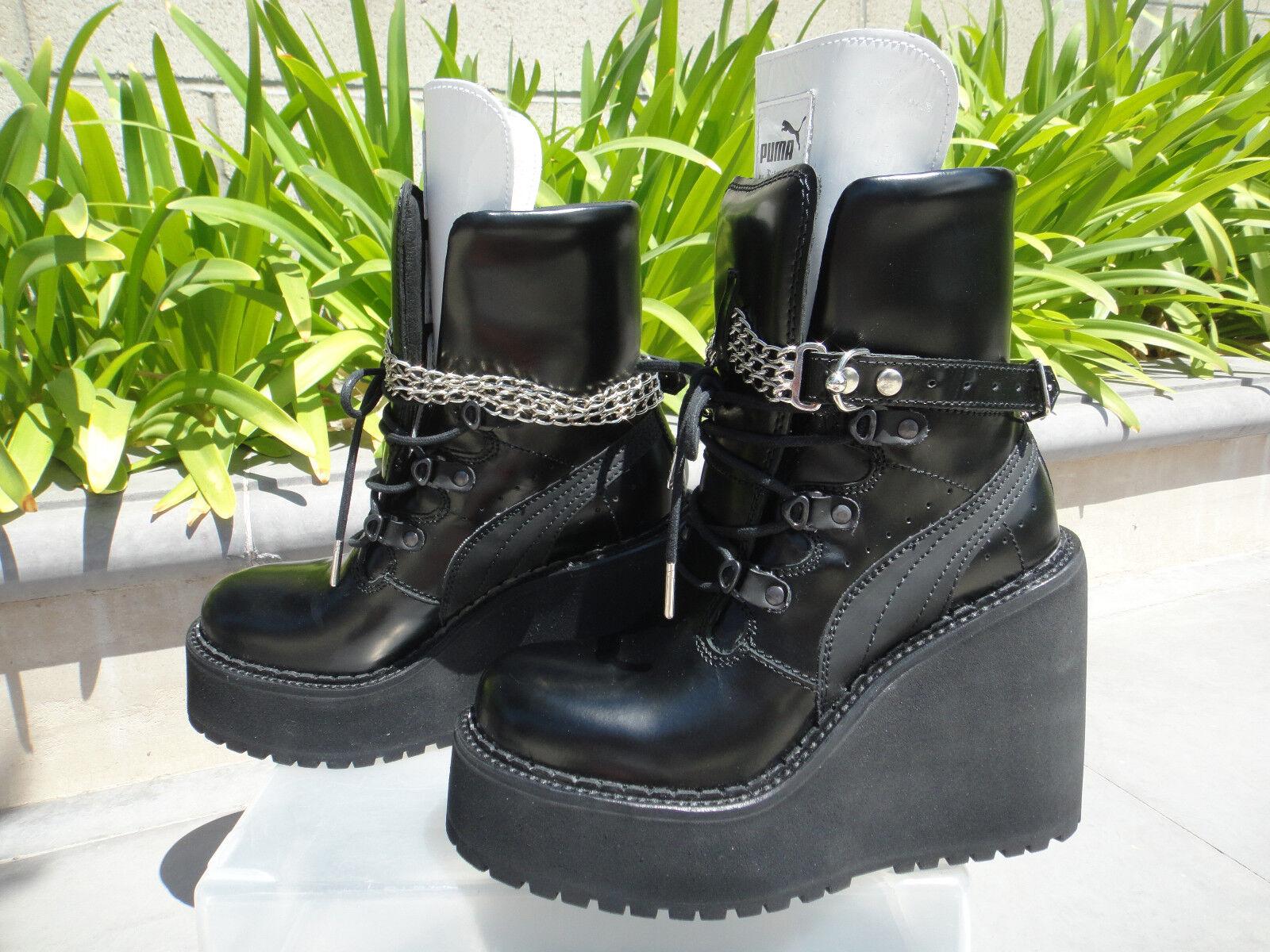 Zapatilla Puma zapatostring X Rihanna cadenas de de de cuña de arranque Hebillas, elige Wmns Talla EE. UU. 7.5M  70% de descuento