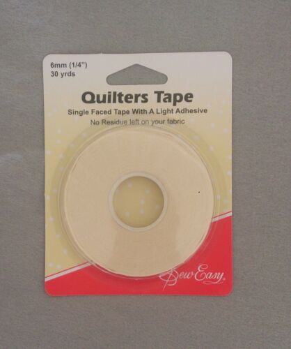 Sew Easy Quilters Tape 6mm x 30yds