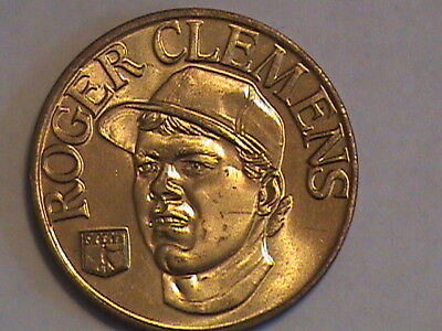 "1992 Adroit Roger Clemens Medal 1-1/2"" Od"