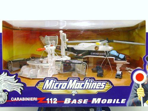 MicroMachines Magic-Carabinieri 112 Base Mobile-Hasbro