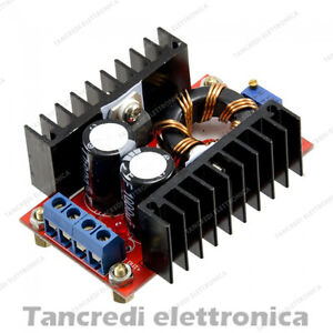 Convertitore-di-tensione-DC-DC-step-up-150W-boost-regolabile-voltage-converter