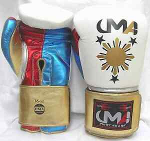 Special-UMA-printed-Boxing-Glove-Professional-Training-Original-Leather-MMA-UFC