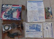 GI Joe ATTACK CANNON (FLAK) Hasbro 1982 New in Un-Sealed Box