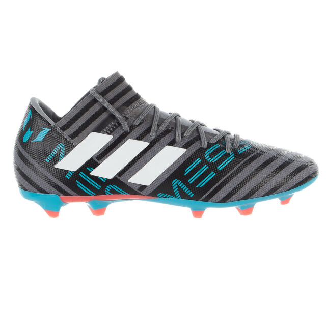 new arrival b182a d7de8 adidas Nemeziz Messi 17.3 Firm Ground BOOTS Mens Grey  Cloud