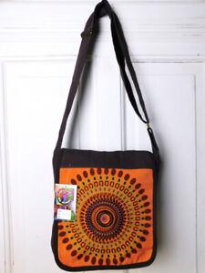 Boho-Vintage-Tasche-Handtasche-Schultertasche-Goa-Ethno-Nepal-NEU
