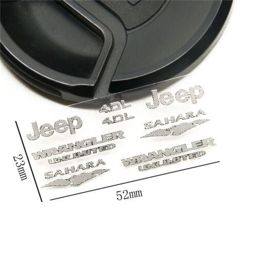 1//10 Logo Sport JEEP 4X4 Sticker Für Axial SCX10 D90 RC Car Truck