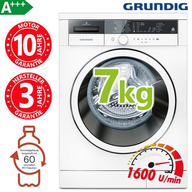 Waschmaschine A+++ Frontlader 1600 Umin 7kg Waschvollautomat Aqua Stop INVERTER