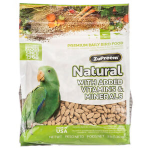 Zupreem-Natural-Bird-Food-For-Parrots-amp-Conures