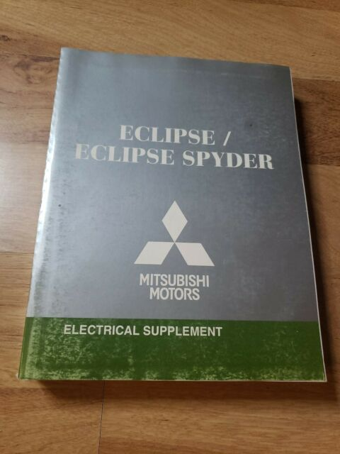 2008 Mitsubishi Eclipse  U0026 Spyder Electrical Wiring