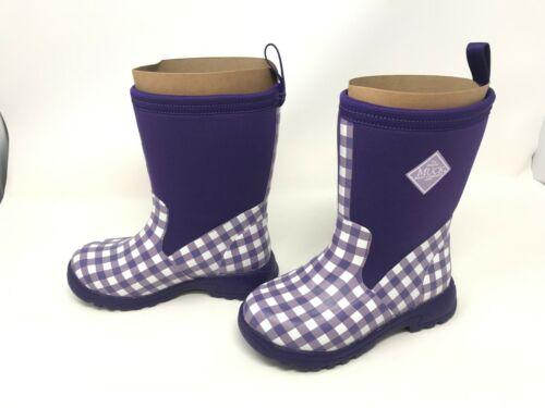 H10 BMK-5GHM Girls Muck Boot Breezy Mid Purple Boots