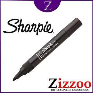 SHARPIE-M15-PERMENANT-MARKERS-PENS-IN-BLACK-WITH-STRONG-BULLET-TIP