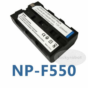 NPF550-Rechargeable-Li-ion-Battery-Pack-For-Sony-NP-F550-NP-F570-Digital-Camera