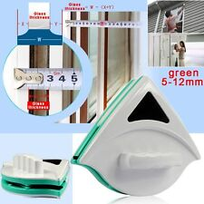 Magnetic Double Sides Window Glass Wiper Cleaner Surface Cleaning Brush Pad tool