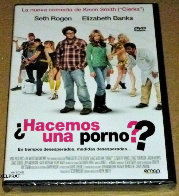 HACEMOS UNA PORNO / ZACK AND MIRI MAKE A PORNO -DVD R2- English Español - Precin