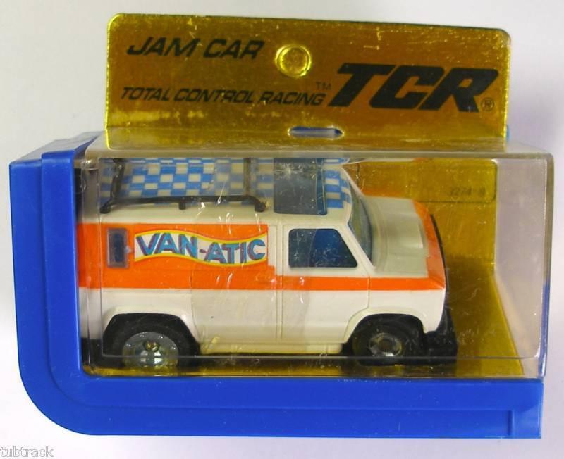 1977 Ideal Tcr van-Atico Jam ranura menos coche 3274-8 n