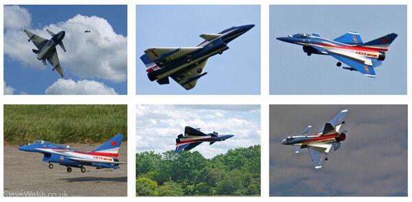 Las alas Maker J-10B Fighter (edición especial de Air Show) pre-ensamblado Combo