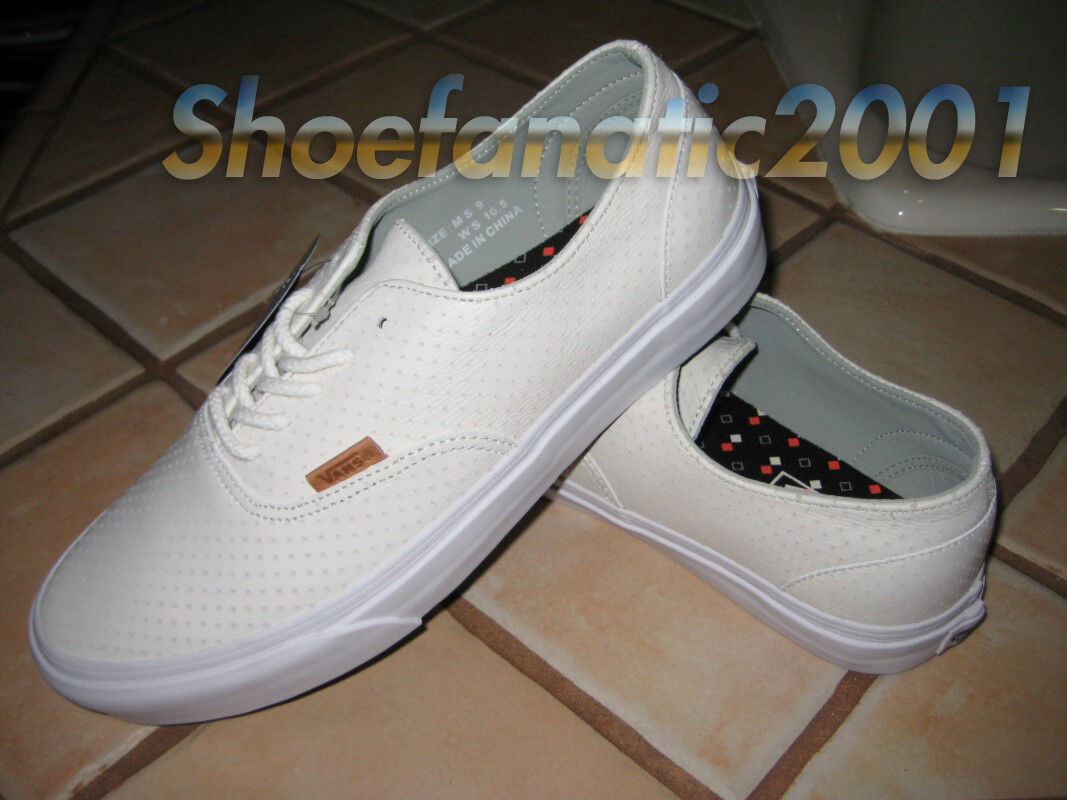 Vans Sample Era Decon CA Leather Emboss White white 9 Syndicate Dill AVE