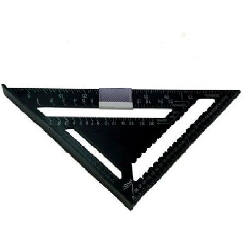 """12/"""" Heavy Duty Aluminium Speed Square Measuring Tool Roofing Triangle Joinery bn"""