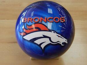 Image Is Loading Nib 15 Otb Nfl Denver Broncos Bowling Ball