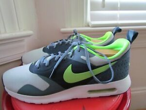 NIKE-AIR-MAX-TAVAS-LEATHER-TEXTILE-MEN-039-S-RUNNING-SHOES-SIZE-11