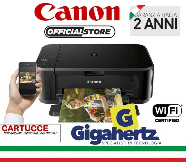 Stampante multifunzione colore CANON MG3650 GARANZIA SENZA CARTUCCE APP CANON