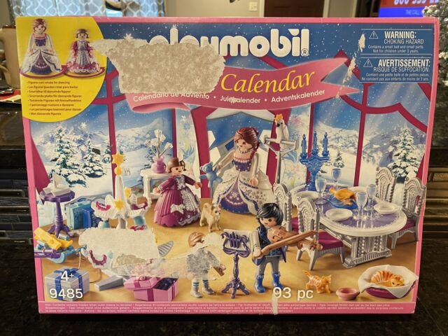 Playmobil 9485 Advent Calendar Christmas Ball in the Crystal Hall Dollhouse New