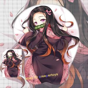 Demon Slayer Nezuko Anime 3D mouse Pad Oppai Wrist Rest 3 Day Shipping
