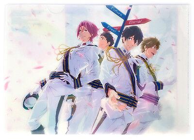 Free! Eternal Summer OFFICIAL PROMO CLEAR FILE FOLDER Anime Japan Rin Iwatobi