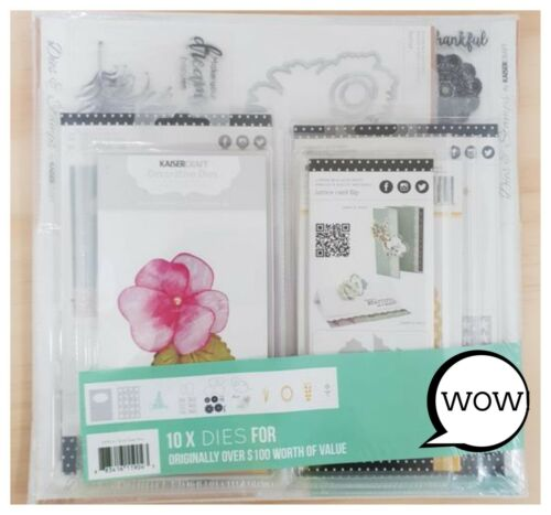 DP904 10 Die Cutting Stencils Over 60/% Off! Kaisercraft Bulk Dies