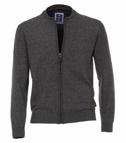 Farben Herren Moulinè-Sweatjacke in versch 621680 Redmond Regular Fit