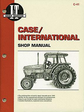 I/&T Case//International Manual Covers 5120 5130 5140