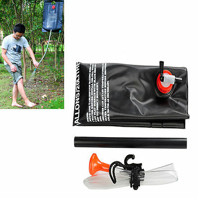 Camping Hiking Sports Solar Heating Camp Shower Bag Outdoor Shower Water Bag 20L