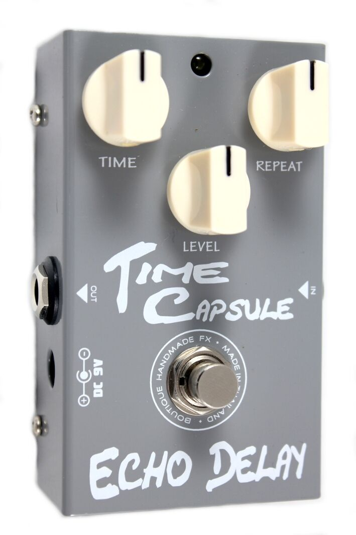 PedalTank Time Capsule Echo Delay Guitar Effects Pedal