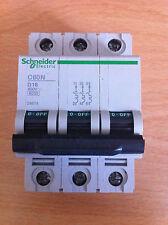 Schneider TP 20 amp MCB D Type C60ND320 24675  New