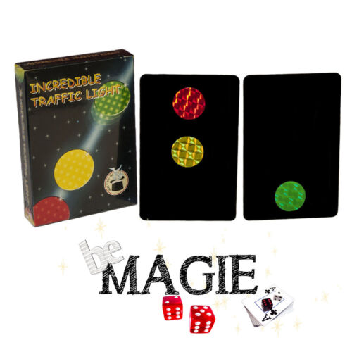 tour magie feux magiques Incredible traffic light Feux tricolores