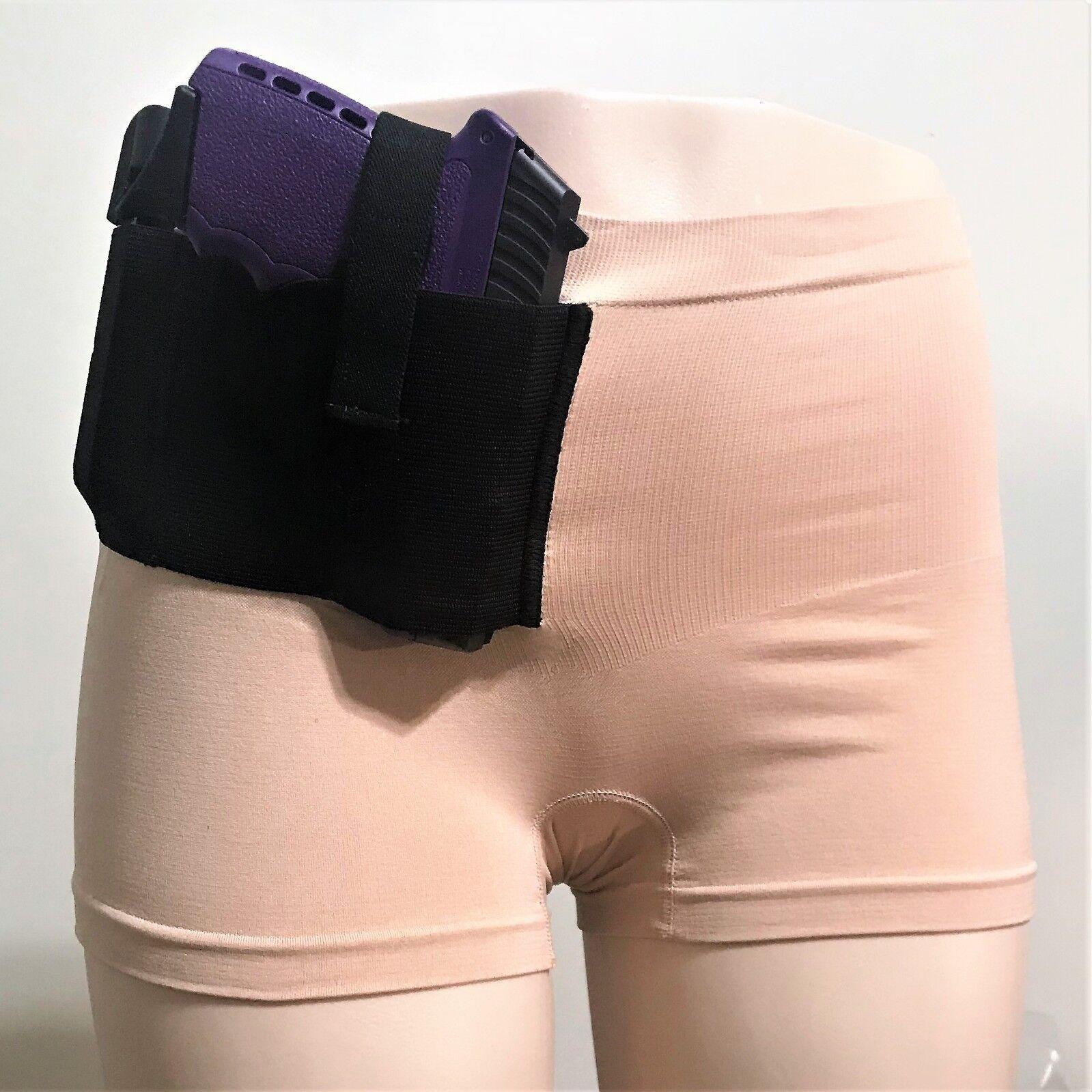 Venta En 2 par  Concealed Carry Pantalones Cortos 1 frontal y 1 Trasero CCW Táctico Funda Pistola