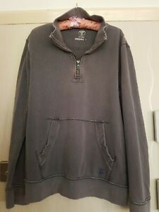 NICE-MENS-FAT-FACE-ORIGINALS-1-4-ZIP-JUMPER-LIGHT-GREY