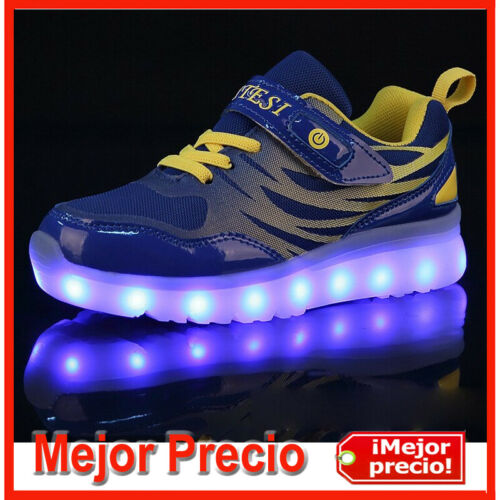 Zapatillas Luces LED para Niños Zapatilla Tenis de Niñas Calzado Niño Deportiva