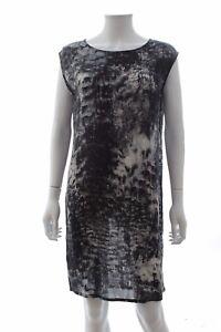 Printed Dress Birger Day Shift Et 2ndday Grey Black Mikkelsen By nxvEX0