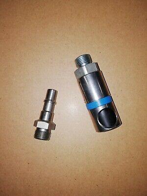 4pcs 1//4raccords connecteurs de coupleur rapide pour Tuayn Air comprime compresseur Male Raccord de tuyau dair