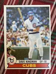 1979 Topps #370 Dave Kingman Chicago Cubs -EX-MT