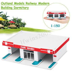 1-150-Modeles-Outland-Batiment-Moderne-Scene-Lave-Auto-N-Echelle-Pour-GUNDAM