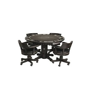 Harley davidson 2 in 1 poker table and chairs ebay