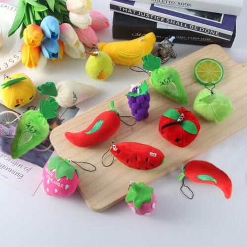 pendentif en clés fourré légumes les enfants de poupées des fruits les jouets