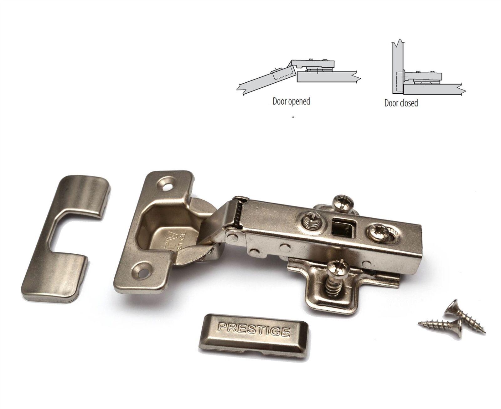 Box of 100 Door Hinge GTV Soft Close 35mm PRESTIGE ZE