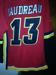Alternate Jersey Calgary Flames Gaudreau Monahan Giordano Tkachuk