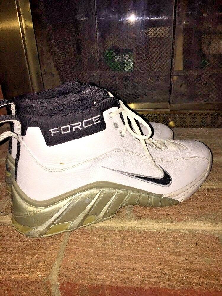 free shipping 0d433 847c3 NIKE AIR FORCE MX AIR LEATHER HIGH TOP BASKETBALL MENS MENS MENS TENNIS  SHOES rare SIZE