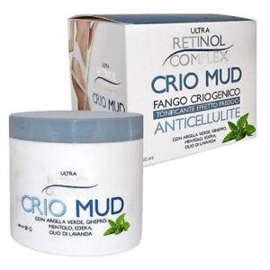 Crio Mud Fango Anticellulite Tonificante Effetto Freddo Retinol Complex 250 ml