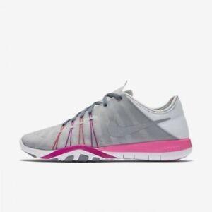 927465cf6accb NEW Nike Free TR 6 Women s Running Shoe 833413 006 Grey Platinum ...