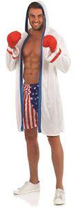 Hommes-Americain-Boxer-USA-Sport-Celebrite-Costume-Deguisement-M-XL